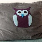 owls trees and forest as theme for childrens room nursery