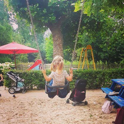 Amsterdam met kids - Vondelpark groot melkhuis