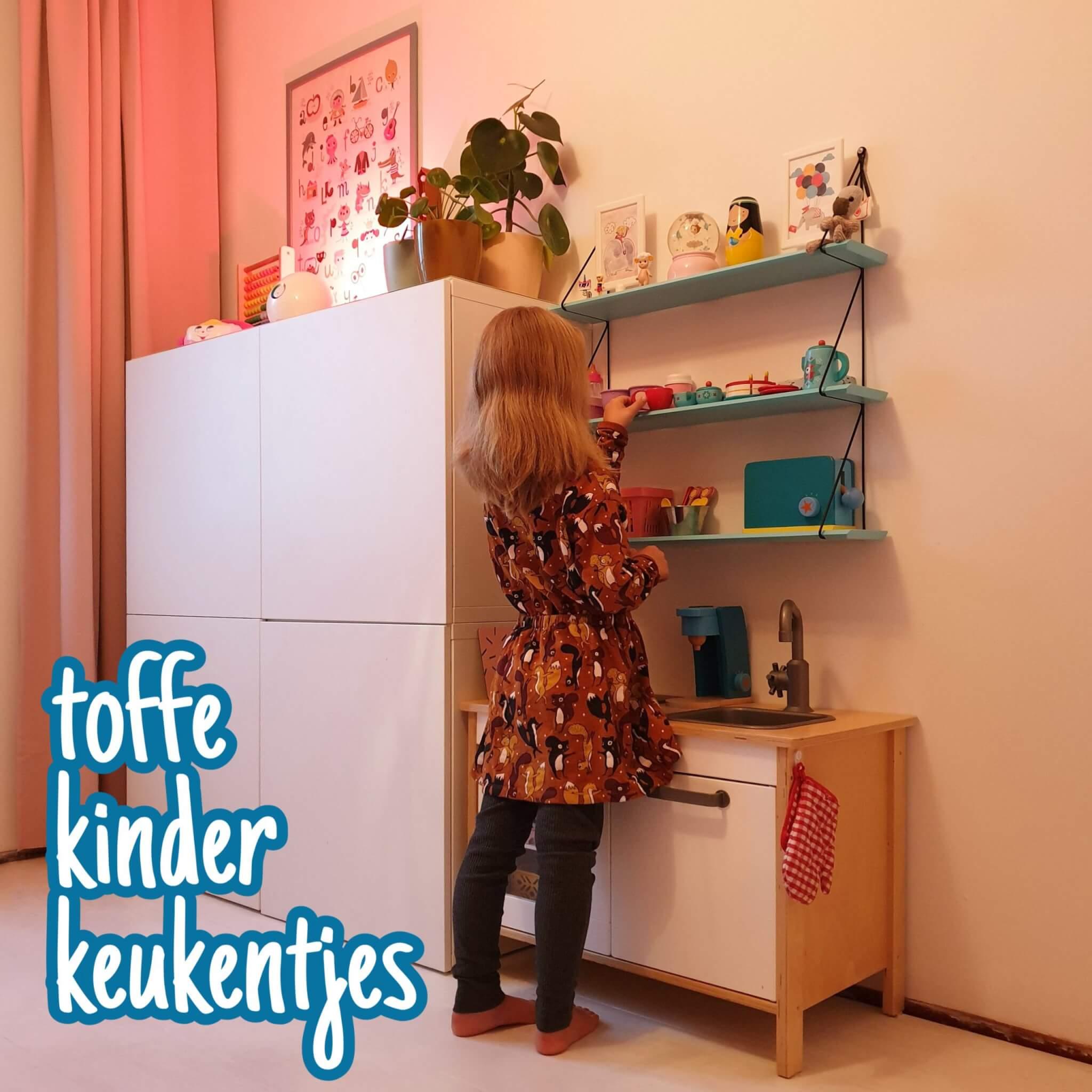 De leukste kinderkeukentjes, zelf gemaakt of gekocht