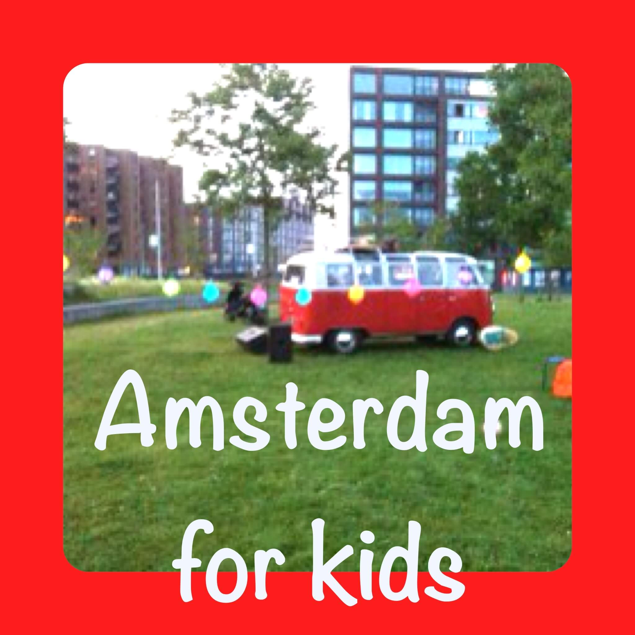 Amsterdam for kids – English version