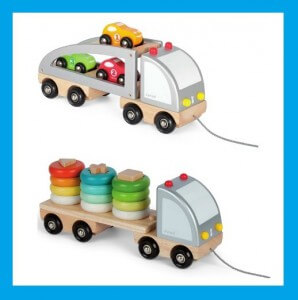 Janod vrachtwagen Verjaardagscadeau voor kids van 1 jaar: leuke cadeau tips voor een baby
