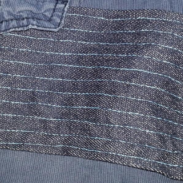 kniepad op broek Mooie rechthoekige kniestukken op kapotte broeken maken kinderkleding babykleding