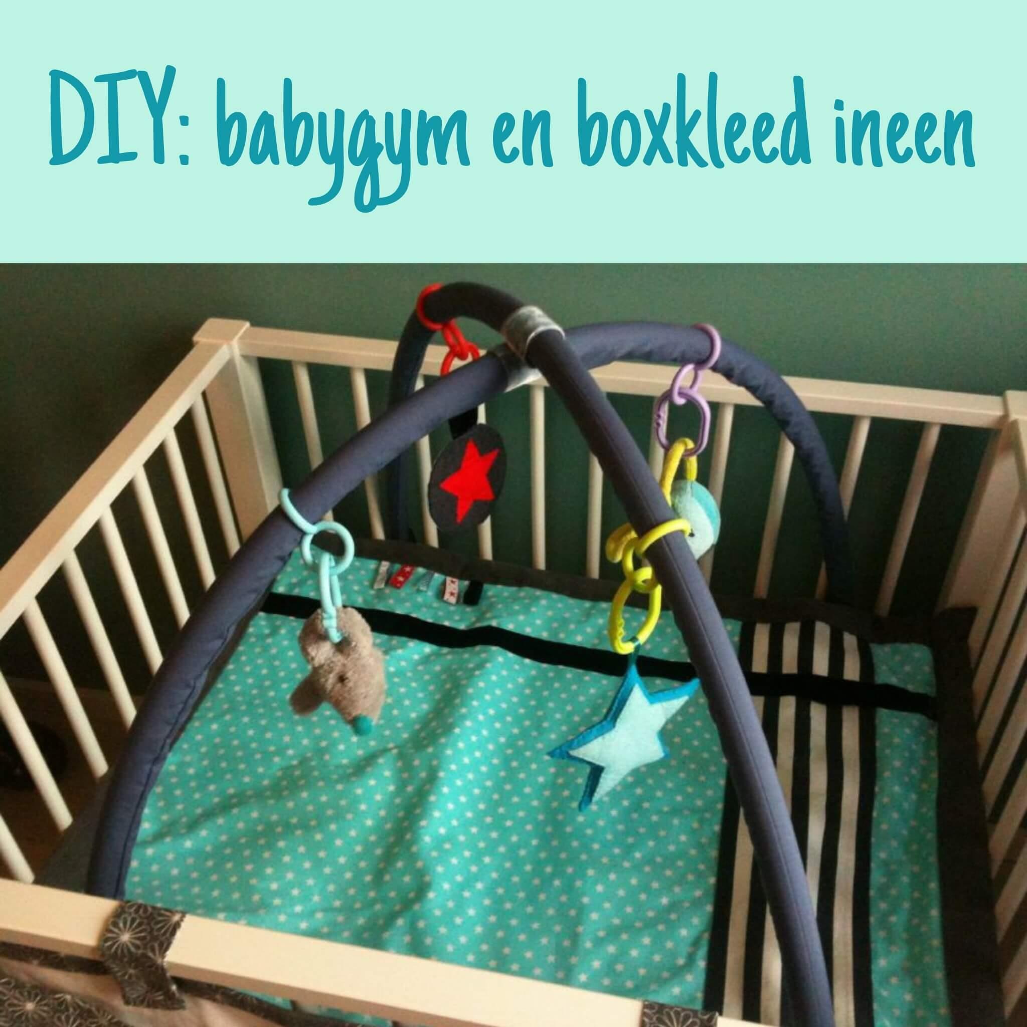 Een babygym of boxkleed maken (of pimpen)