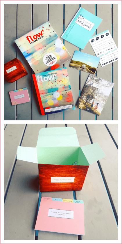 Zomervakantie tip: de Flow Vakantiebox met vakantieboek #leukmetkids #zomervakantie