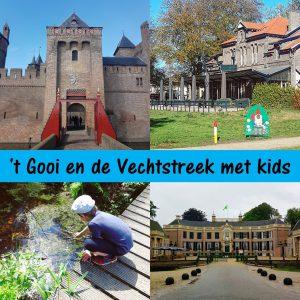 't Gooi en de Vechtstreek met kids: uitjes, restaurants, winkeltjes, speeltuinen en kinderboerderijen