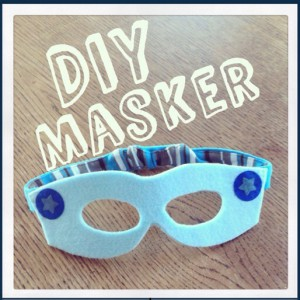 DIY: sterren masker voor een superheld