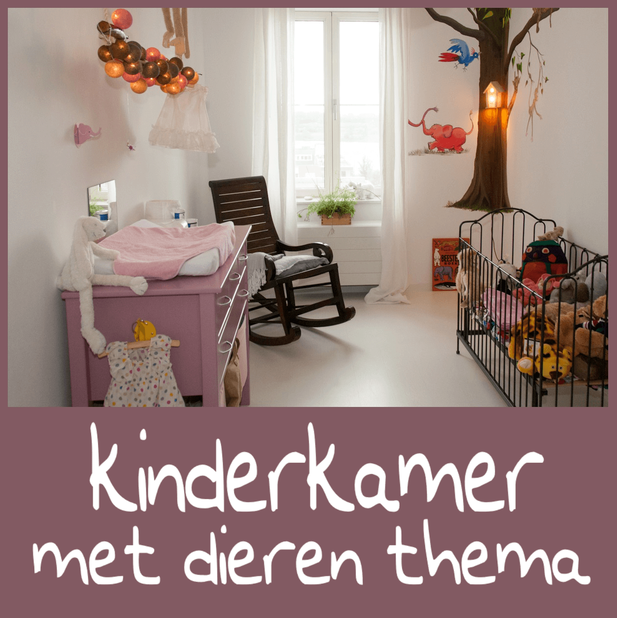 Dieren als thema voor een stijlvolle babykamer en kinderkamer leuk met kids - Kamer voor jaar oude jongen ...