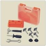 Gereedschapskist van Ikea: Hamertje tik van geluidsarm plastic