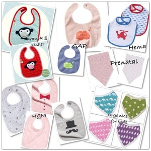 De leukste slabbetjes voor baby's en waarom ze onmisbaar zijn