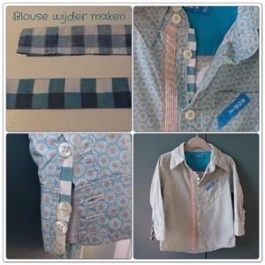 Blouse of overhemd wijder maken: tutorial voor een makkelijk klusje