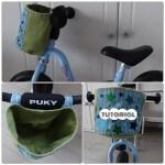 Tutorial: een fietsmandje zelfmaken voor loopfiets, driewieler of fiets diy patroon
