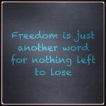 Mooie quote van Janis Joplin