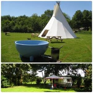 Een overzicht van heel veel leuke idyllische campings in Nederland met kids #leukmetkids Minicamping 'Bij ons' in Groesbeek bij Nijmegen, Gelderland