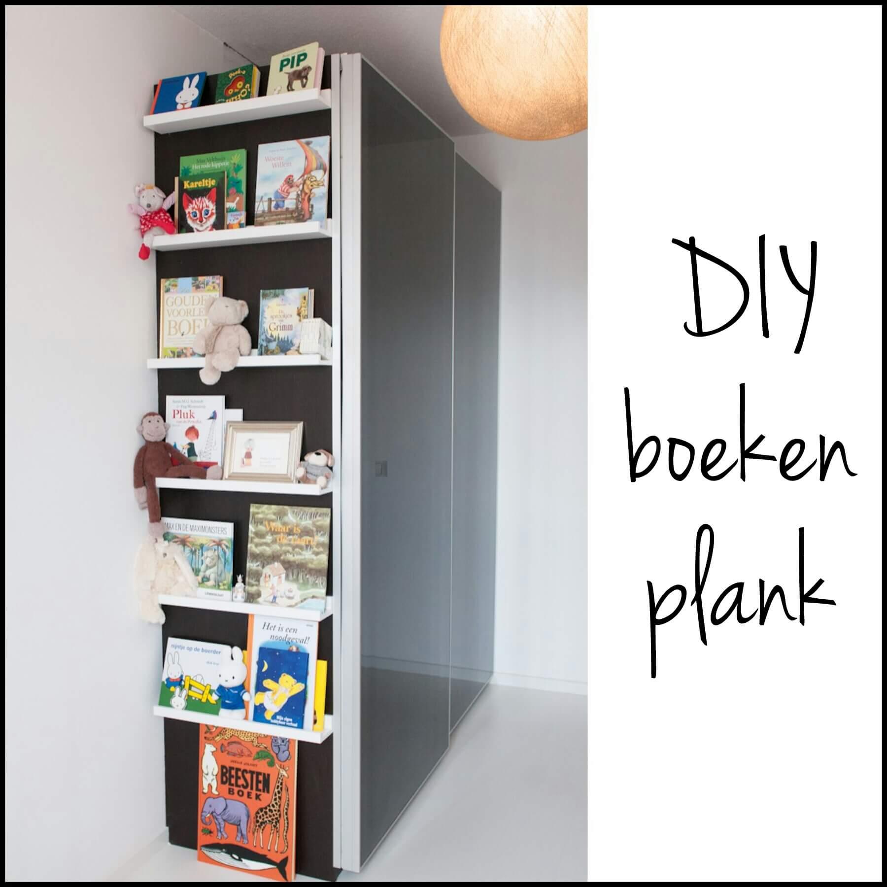 diy boekenplank: zo geef je boeken een leuke plek in de babykamer, Deco ideeën