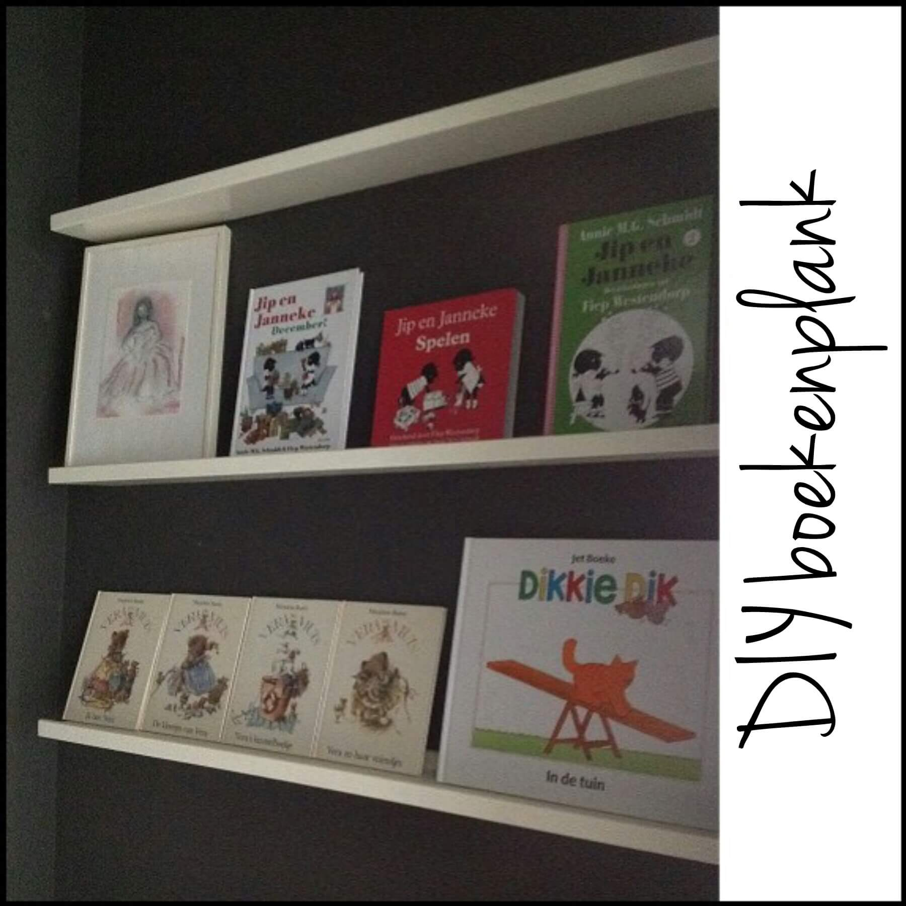 DIY boekenplank zo geef je boeken een leuke plek in de babykamer en kinderkamer