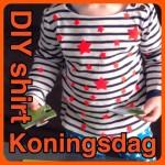 DIY shirt koningsdag