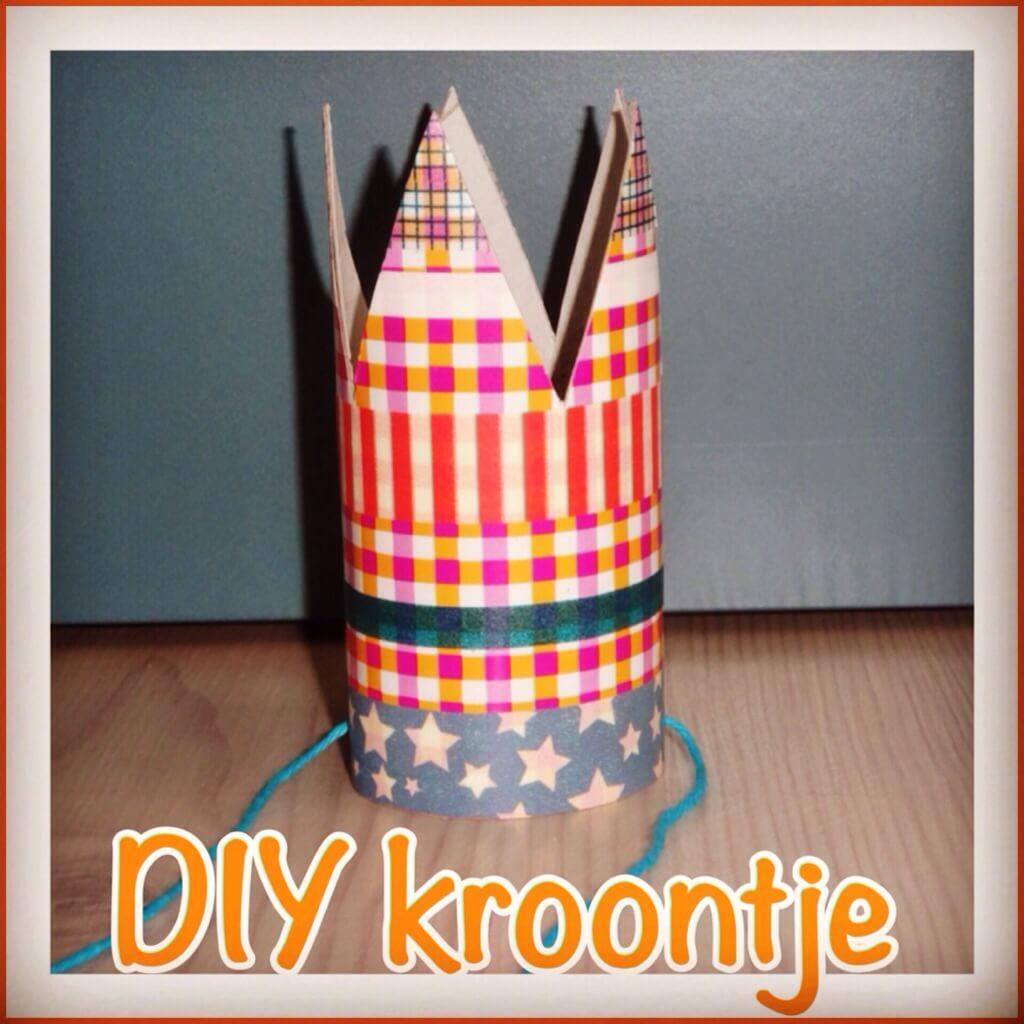 DIY: kroon knutselen voor Koningsdag