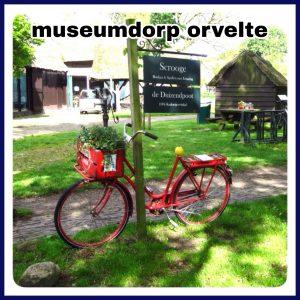 Orvelte: Museumdorp met kinderboerderij, speeltuin en kindvriendelijk restaurant