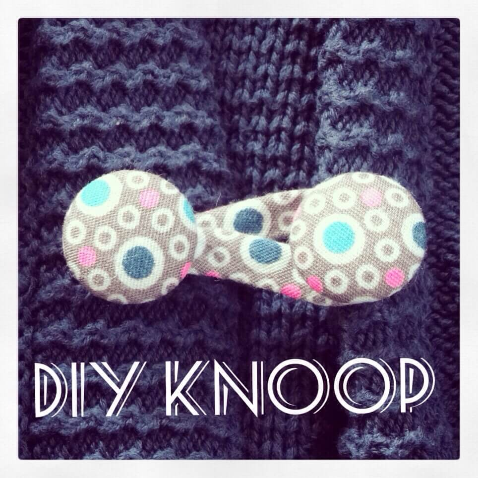 DIY: een stoffen knoop op een vestje maken
