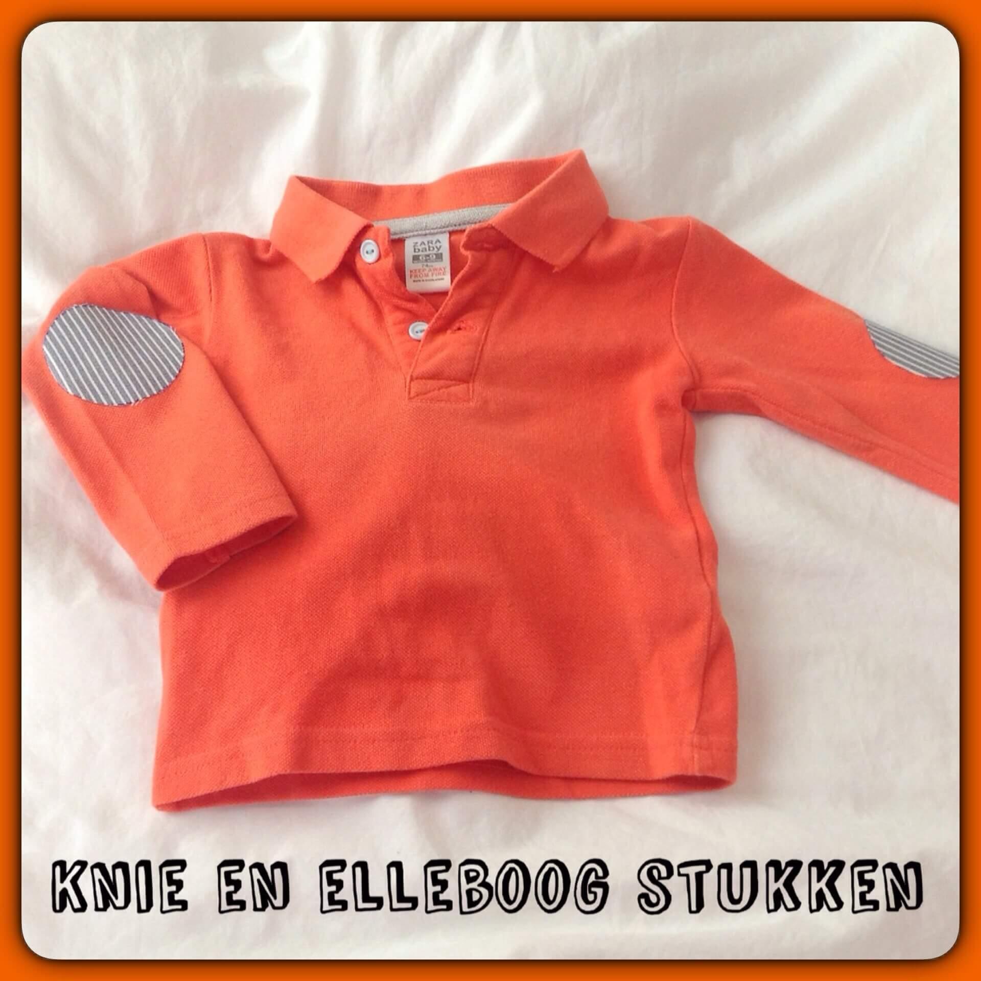 Kinderkleding DIY: elleboogstukken of kniestukken op kleding zetten