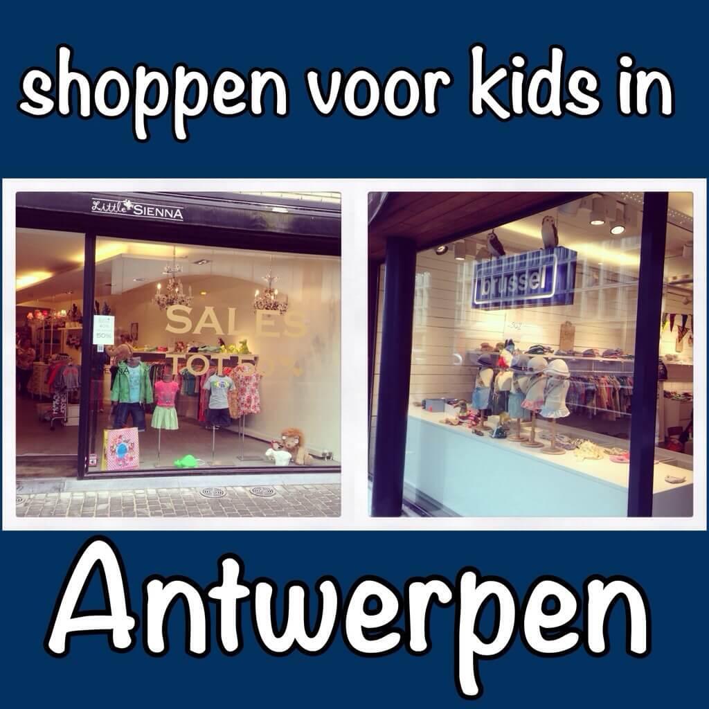 Shoppen voor kids in Antwerpen