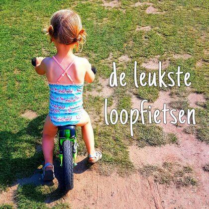 De leukste loopfietsen voor kleine en grote kinderen