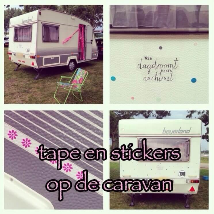 Zomerhuis op wielen de 10 leukste ideeën om een caravan te pimpen - vintage retro caravan trailer diy camper Beyerland