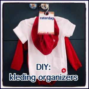 DIY kleding organizers