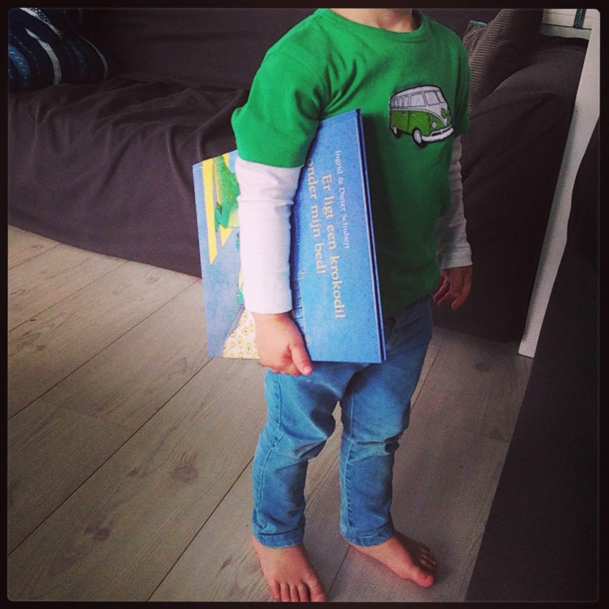Boekentip: er ligt een krokodil onder mijn bed!
