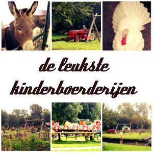 De leukste kinderboerderijen in heel Nederland