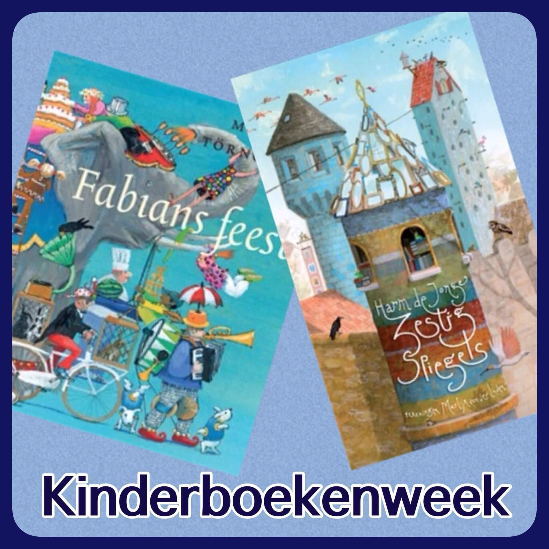 Kinderboekenweek met thema Feest! – de leukste tips
