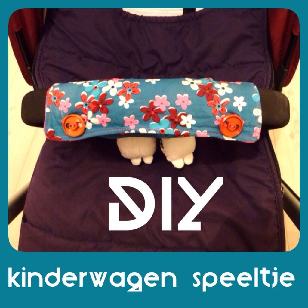 DIY: speeltje aan de kinderwagen