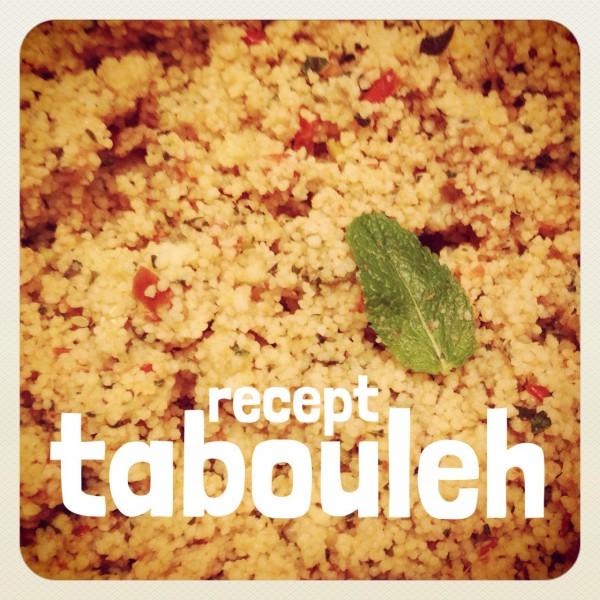 Makkelijk recept voor frisse couscous tabouleh op een warme dag