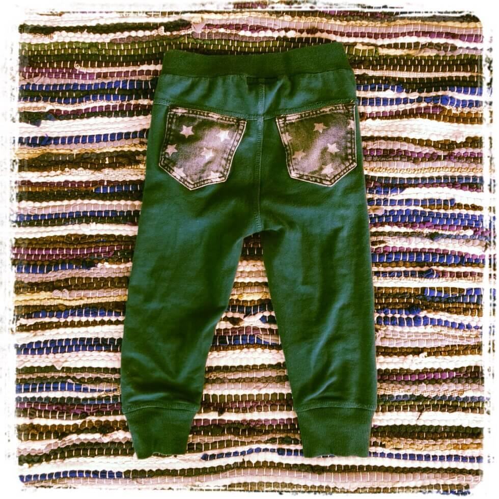 DIY: jeans zakken hergebruiken