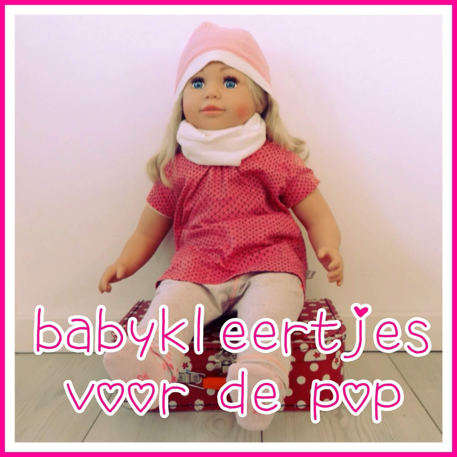 Een pop die de kleinste babykleertjes van je kind in maat 56 aan kan