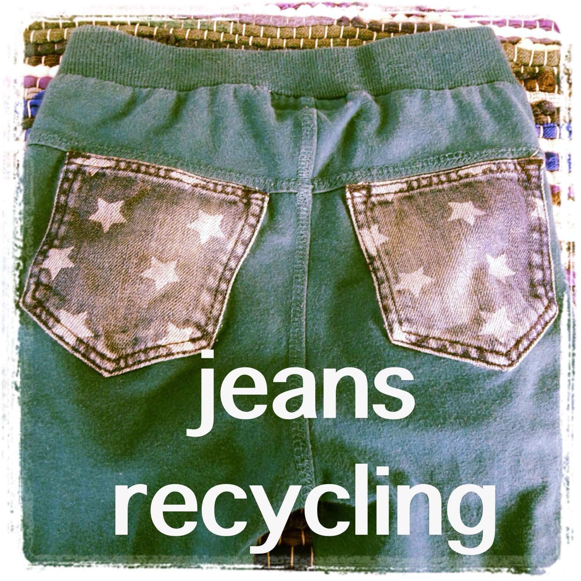 DIY: spijkerbroek zakken hergebruiken