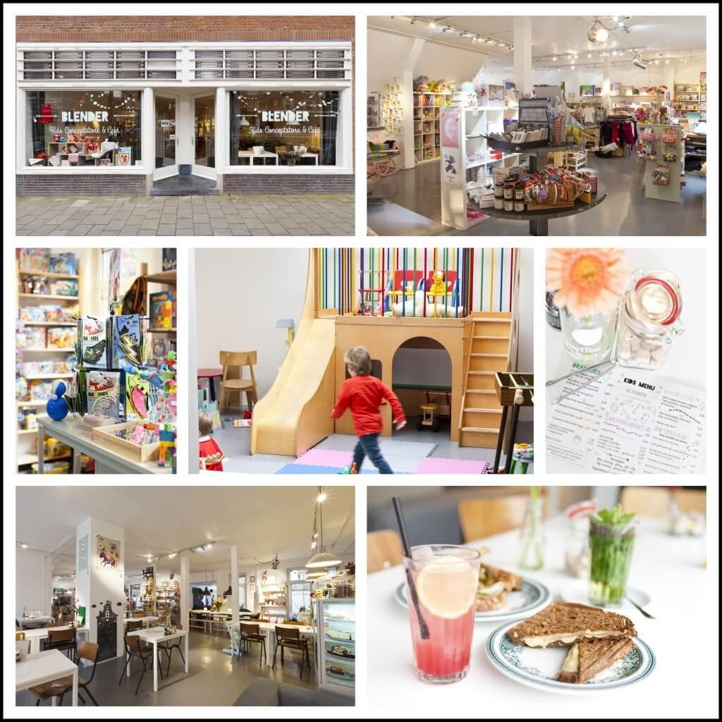 Nieuwe winkel annex gezinscafé in Amsterdam: Blender