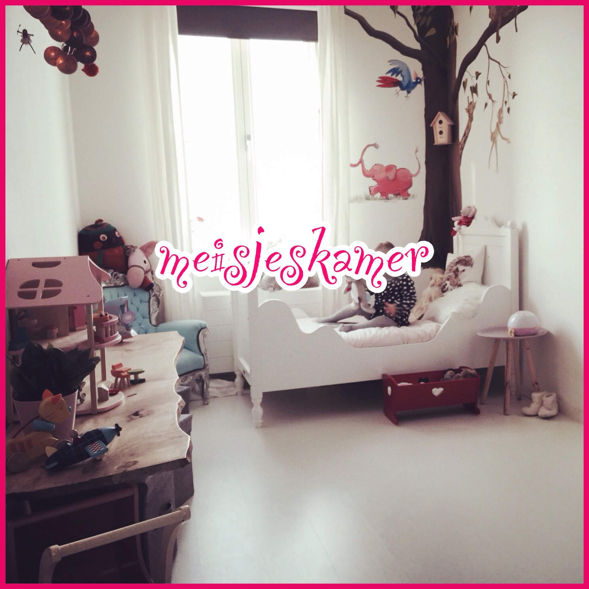 Mooie sprookjes meisjeskamer voor peuter en kleuter leuk met kids - Meisjes kamer jaar ...