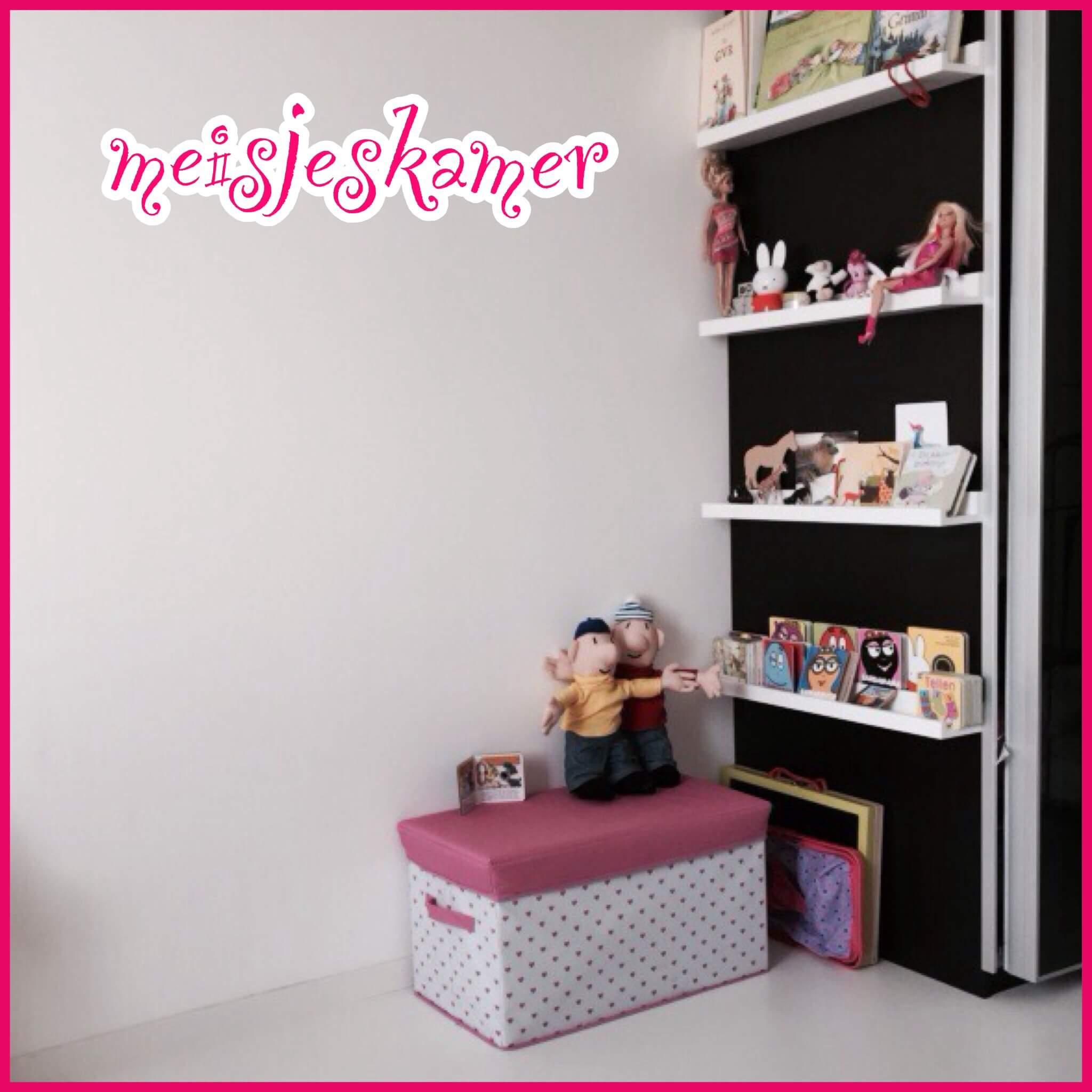 Mooie sprookjes-meisjeskamer voor peuter en kleuter
