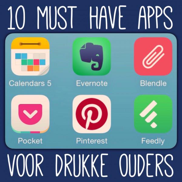 10 must have apps voor drukke ouders