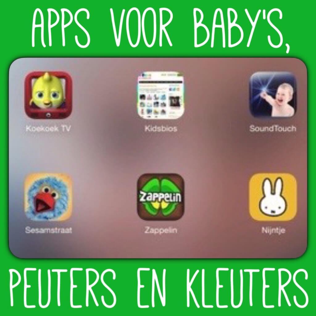 Goede apps voor baby's, peuters en kleuters op je tablet en smartphone (iPad, iPhone, Android)