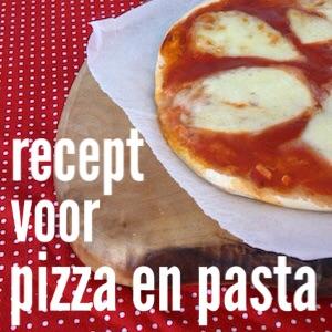 Recept voor pizza en pasta om samen met de kids te maken