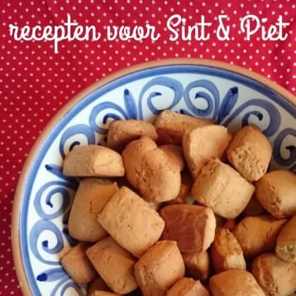 Recepten voor Sinterklaas: marsepein, kruidnoten en pepernoten