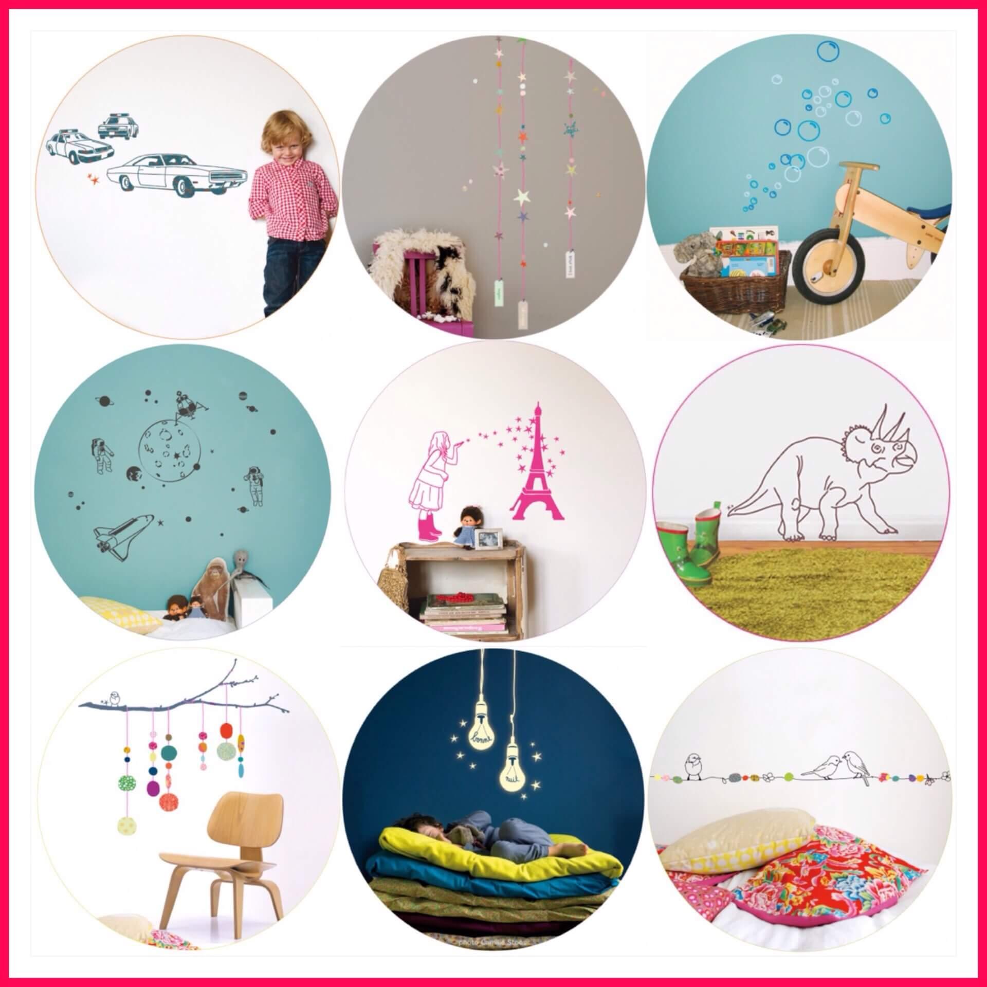 Behang en muurstickers de leukste keuzes voor de for Cadeautips voor kinderen