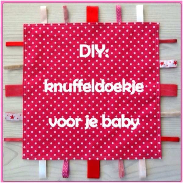 DIY: een knuffeldoekje voor je baby zelf maken