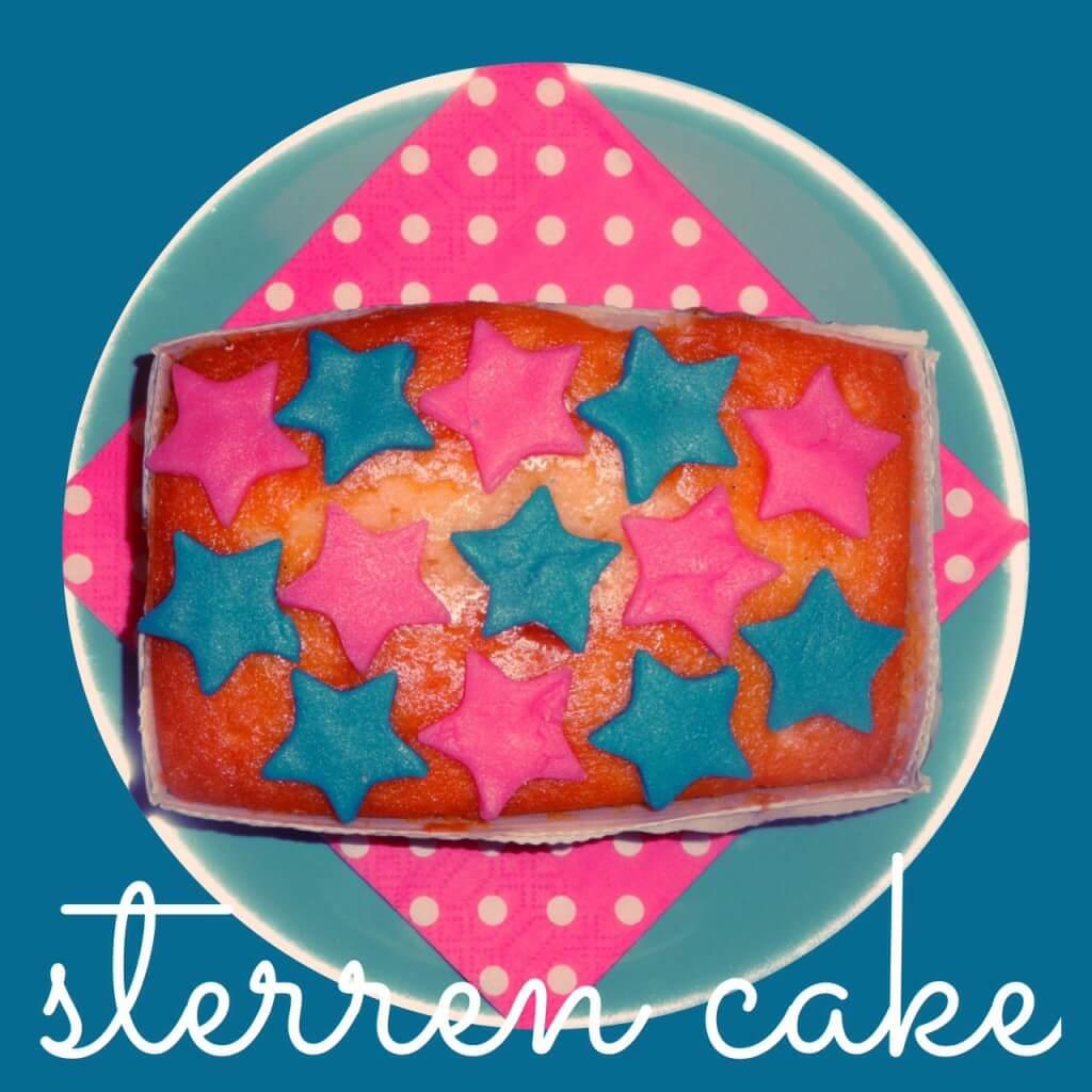 kerst sterren cake