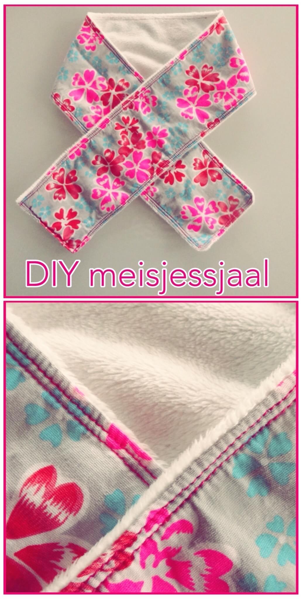 DIY sjaal voor meisjes