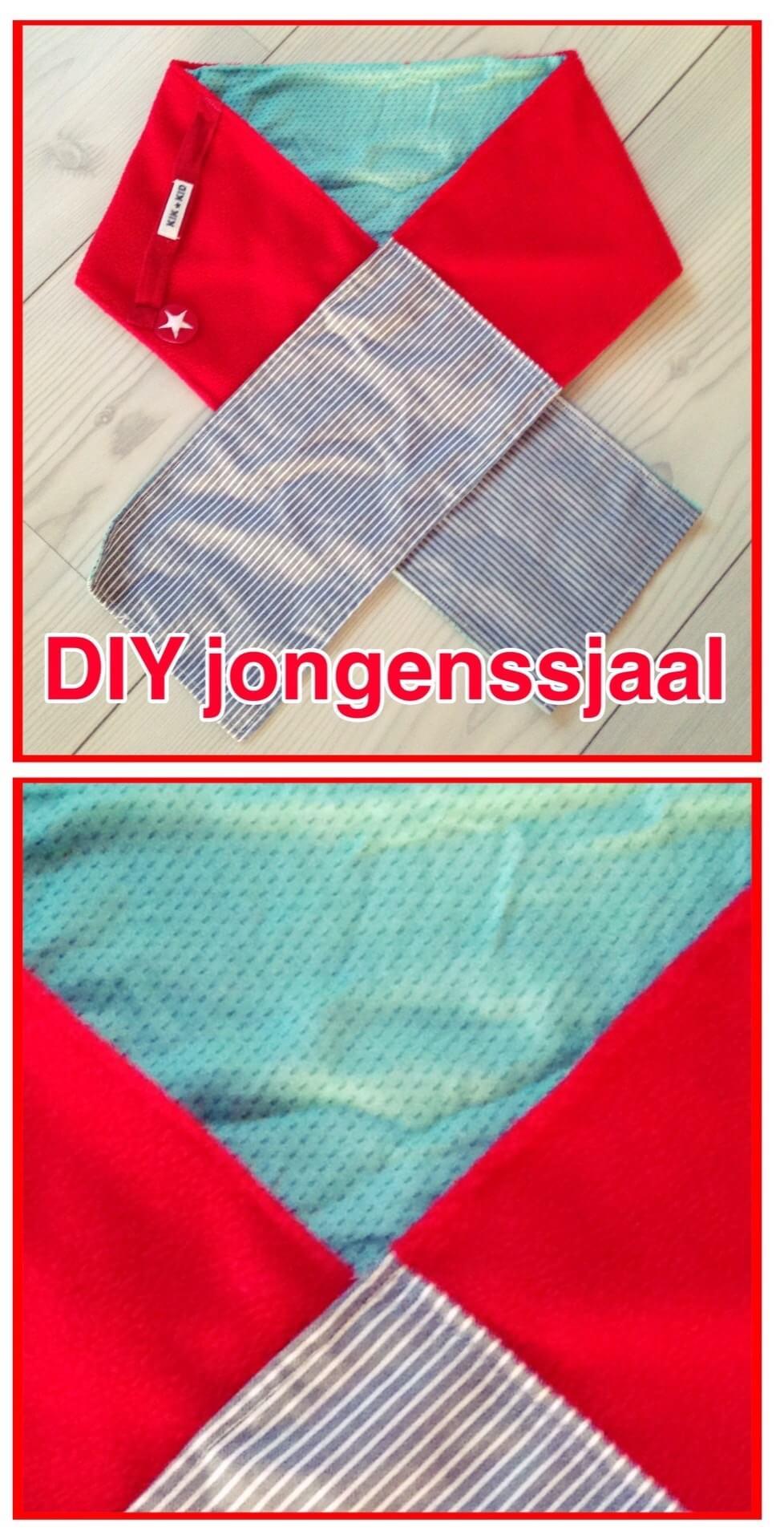 DIY sjaal voor jongens