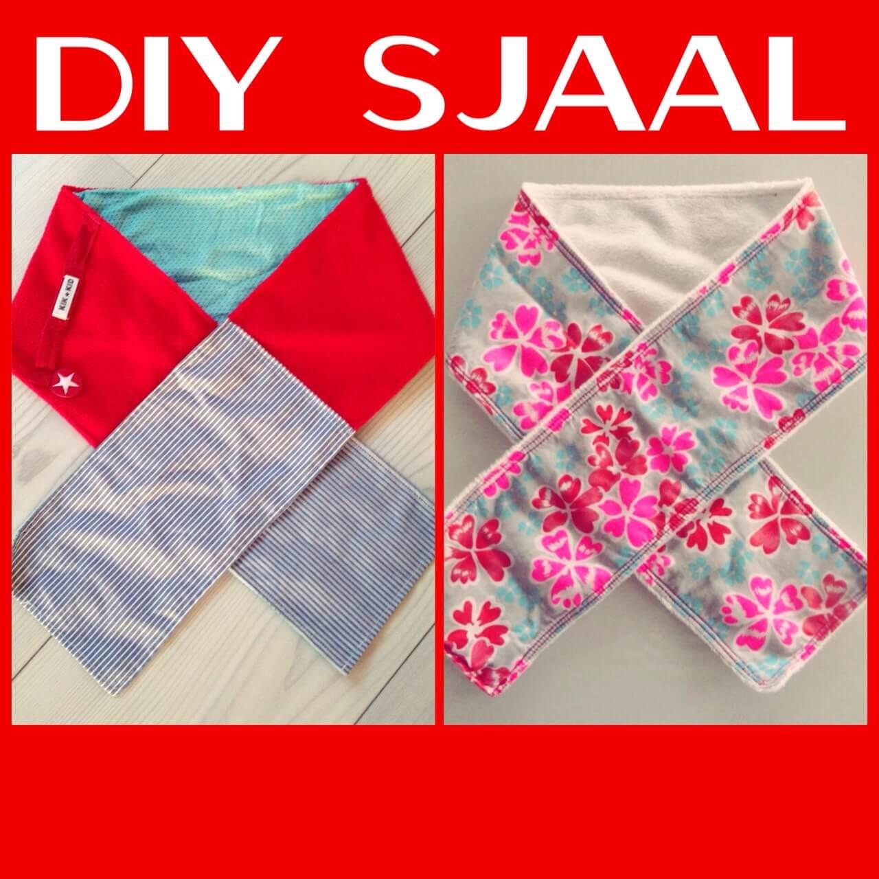 DIY sjaal voor meisjes en jongens
