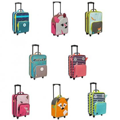 Lassig trolley koffer voor kinderen - Verjaardagscadeau voor kids van 1 jaar: leuke cadeau tips voor een baby